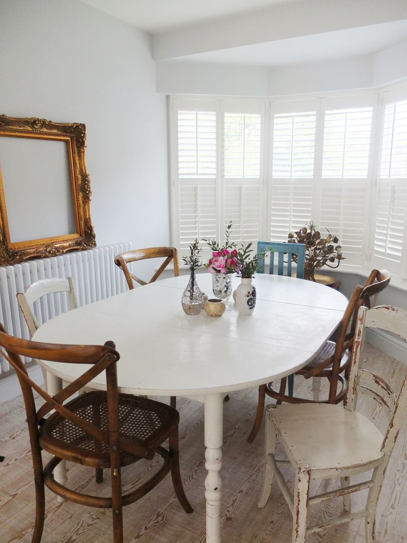 Etonnant Mismatched Dining Room Chairs