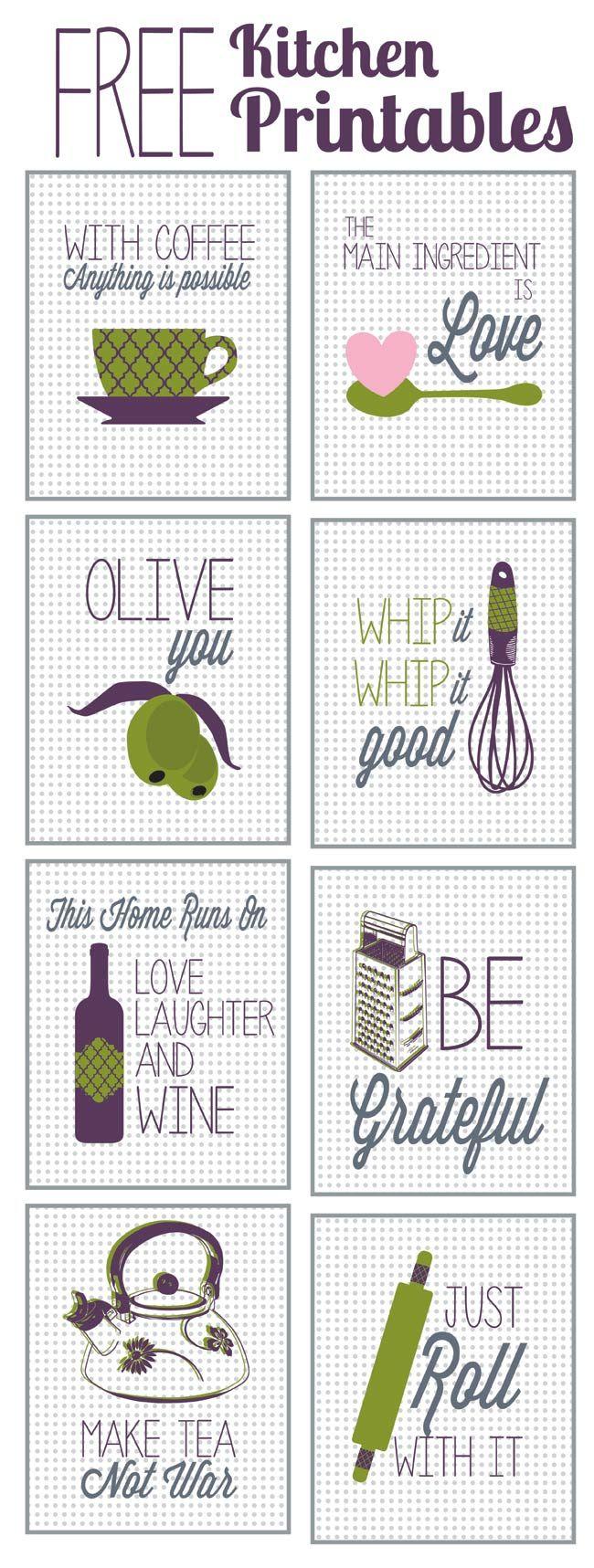 Fabulous u free kitchen printables kitchens cross stitch and stitch