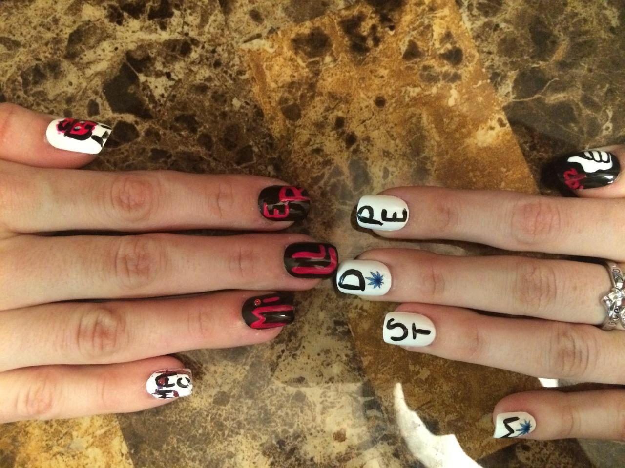 Mac Miller Nails Nails Nail Designs My Nails