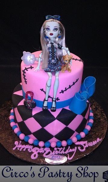 Monster High Cake Cakes Pinterest
