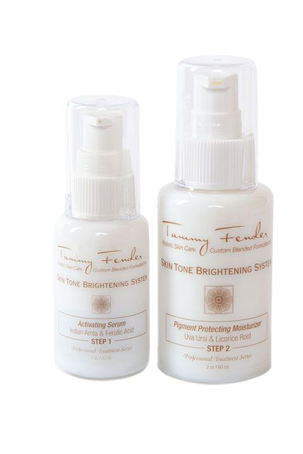 Get Your Glow On With Help From the Best BrighteningProducts | Beauty HighGet Your Glow On With Help From the Best Brightening Products This skin-brightening system delivers a one-two punch to dark spots and discoloration, using natural-but-potent ingredients to brighten and even tone while eliminating dryness.Tammy Fender Skin Tone Brightening System, $185, Dermstore.com