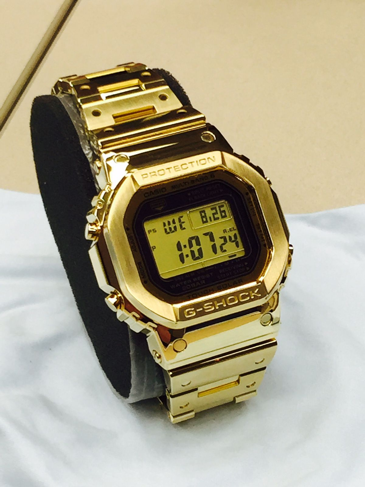 2eb4bd67ab71 Casio G-Shock DW-5000 solid 18kt gold limited edition