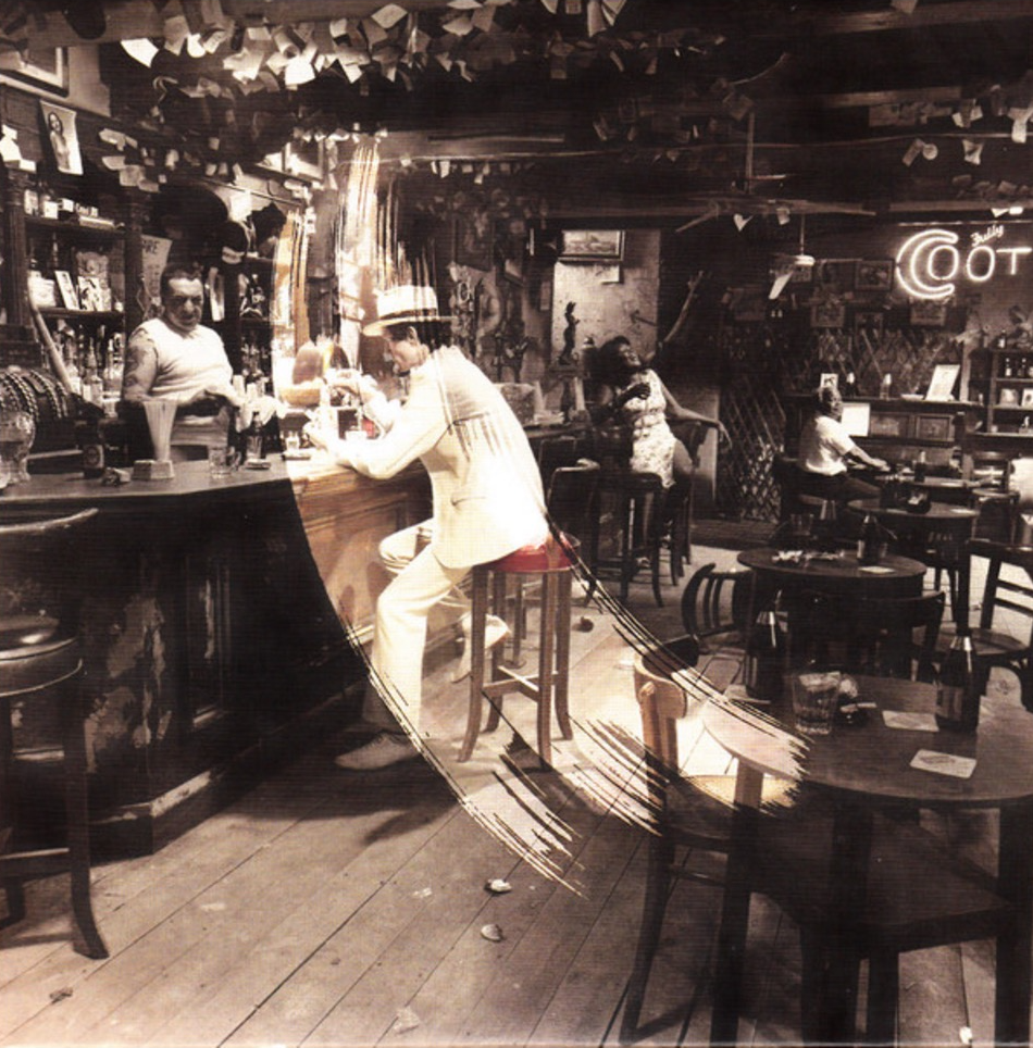 Led Zeppelin - In Through The Out Door - Album cover art