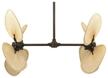 I Love This Palisade Double Ceiling Fan Tropical Ceiling