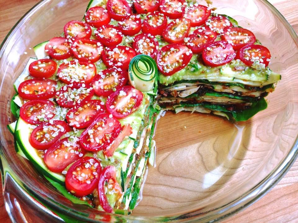 This raw lasagna is probably going to change your life just be this raw hemp garlic pesto lasagna is probably going to change your life just be forewarned as were testing out a bunch of new raw vegan recipes in the forumfinder Image collections