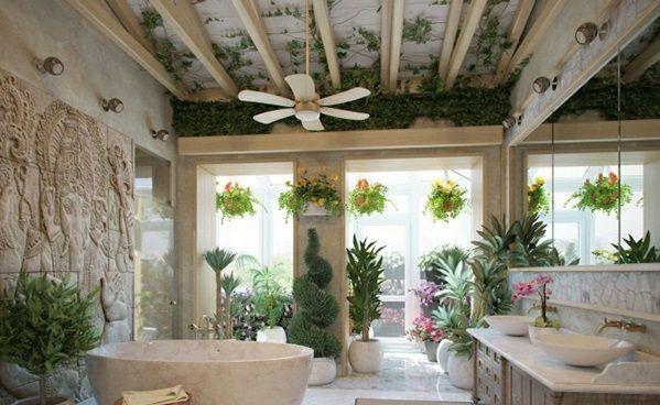 2013 Creating Bathroom Natural Shades Choie Bulalaque