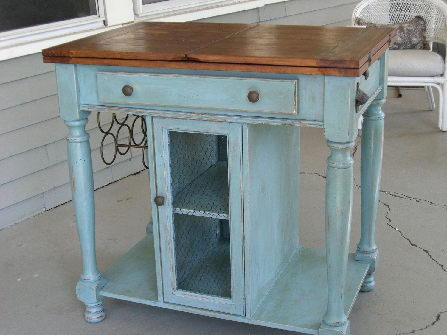 French Country Kitchen Island | French country kitchens, Kitchens ...