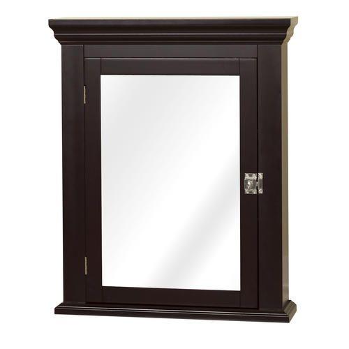 Zenith 22 1 4 W X 27 1 4 H Espresso Medicine Cabinet In 2020 Medicine Cabinet Mirror Cabinet White Medicine Cabinet
