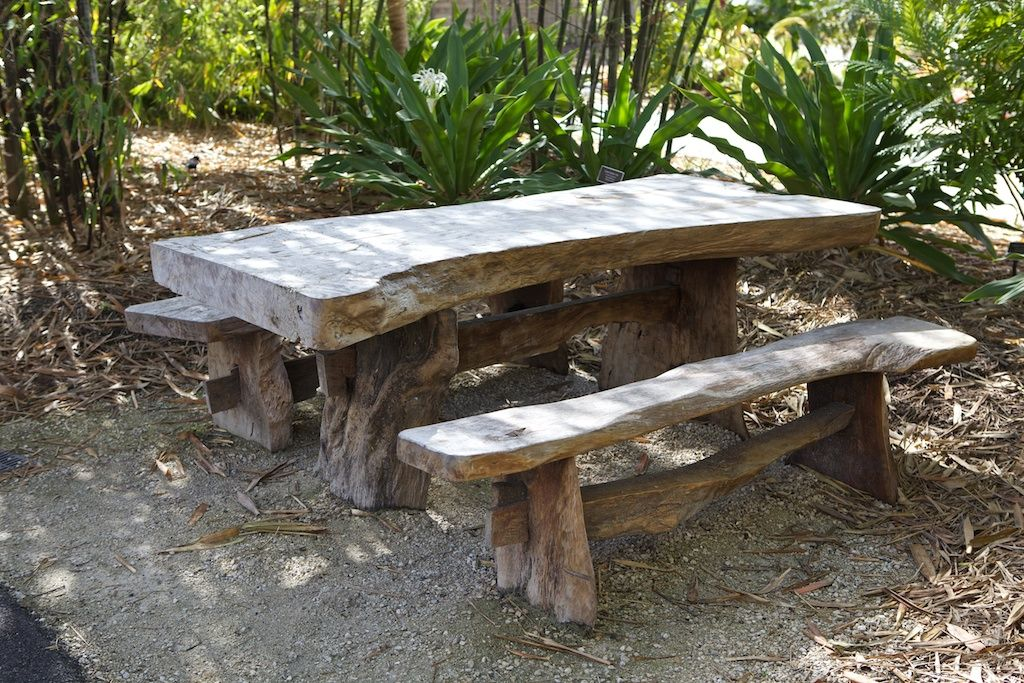 rustic picnic table Picnic table, Picnic bench