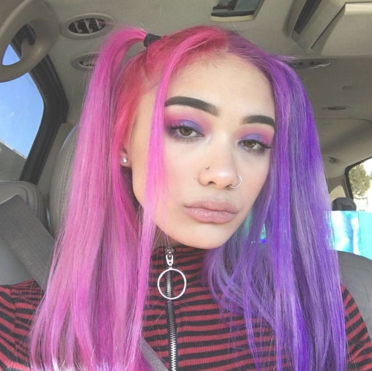 Arctic Fox Hair Color Alyssabennetxo It S Electric With Images