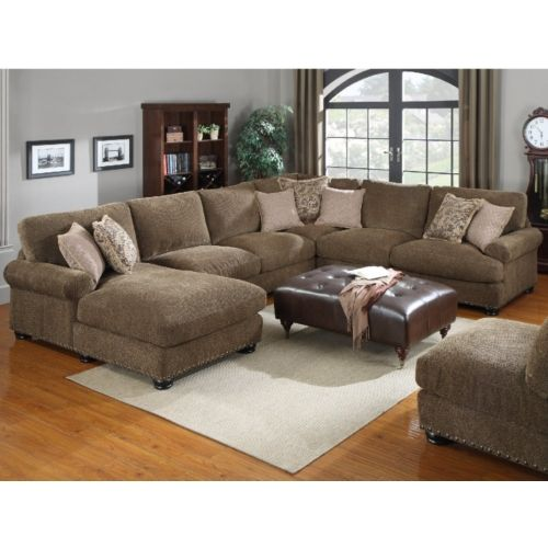Baxter 4 Piece Sectional | HOM Furniture  sc 1 st  Pinterest : hom furniture sectionals - Sectionals, Sofas & Couches