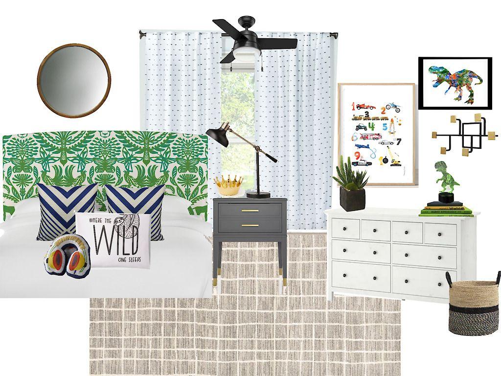 Playful & PatternHappy Big Boy Room Plans Big boy room