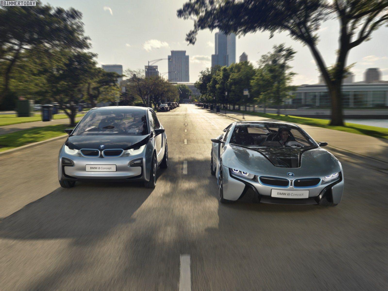 Superior Hybrid Sportler BMW I8 And I3 #CarWallpaper