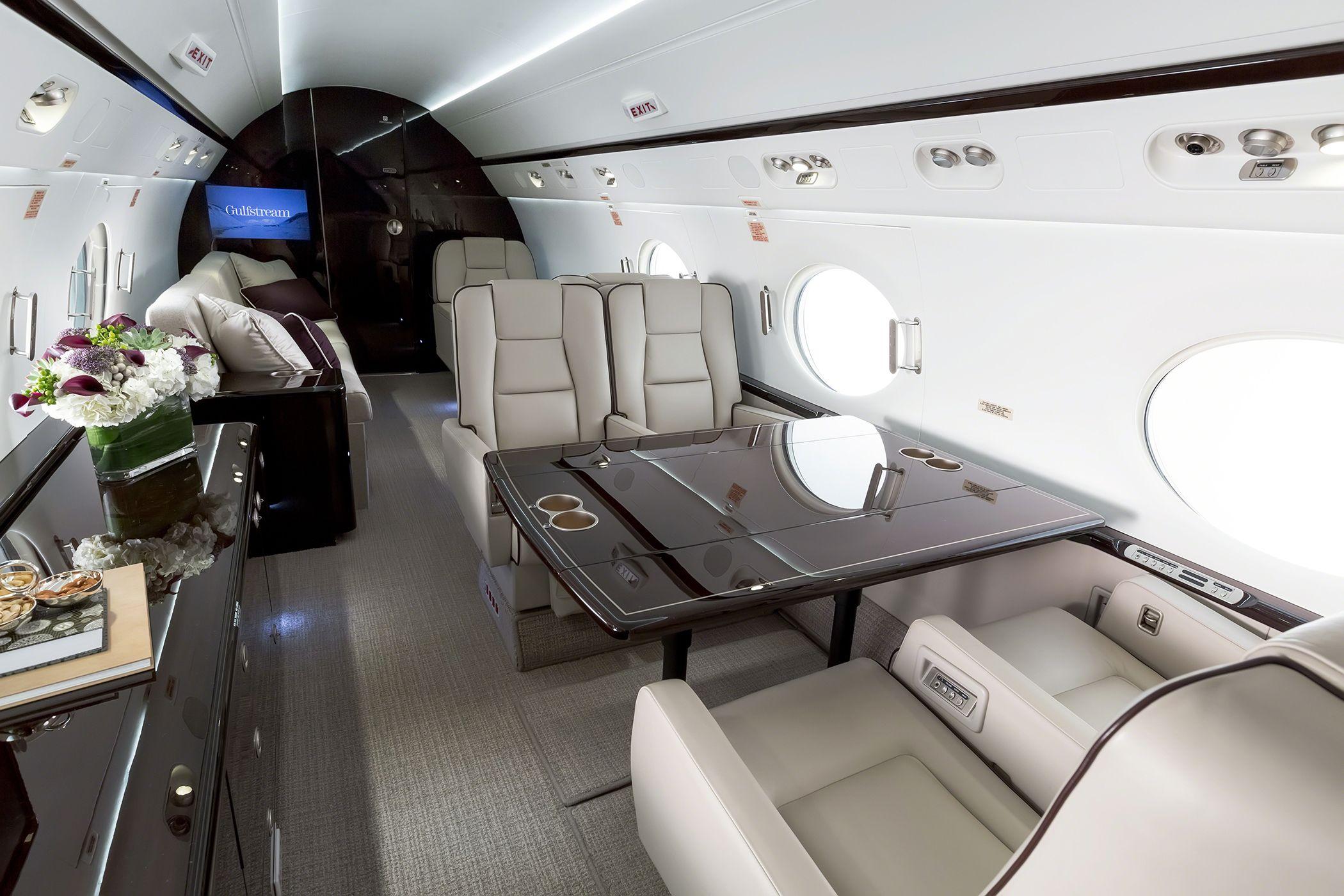 Step Inside The Gulfstream G550 Luxury Jets Private Jet Jet