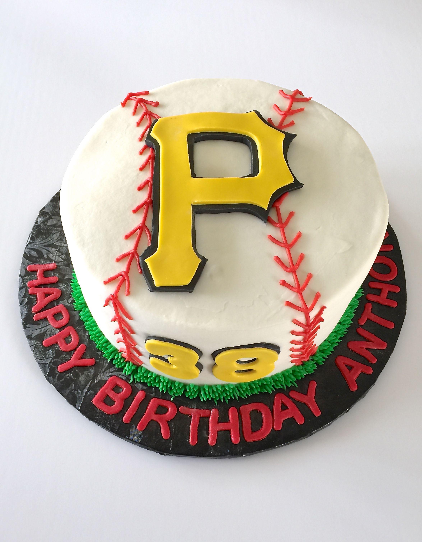 Pittsburgh Pirates Cake Cakes Pinterest Cake Sports Themed