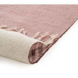 Photo of benuta Naturals wool carpet Oasis Rosa 120×170 cm – natural fiber carpet from Wollebenuta.de
