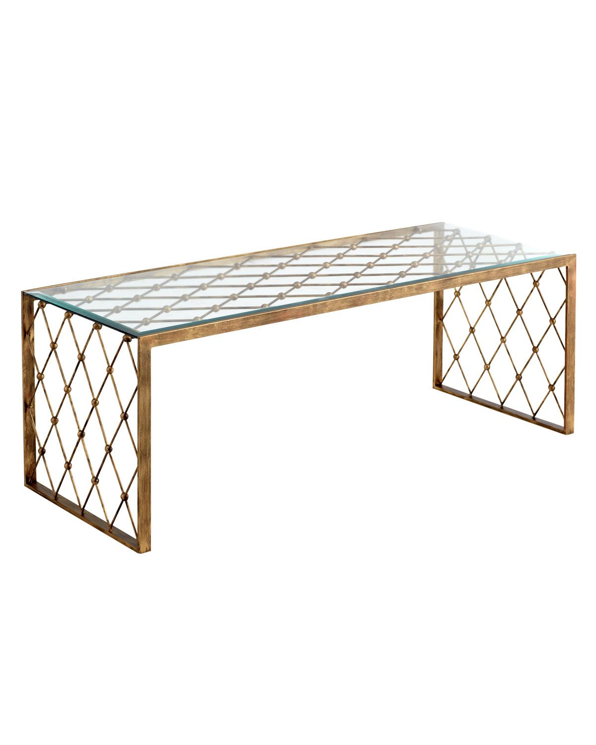 """""""Nerian"""" Glass Coffee Table - Horchow"""