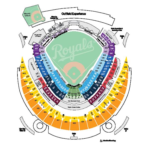 Image result for kc royals stadium map stadium maps pinterest