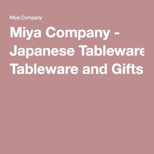 Miya Company   Japanese Tableware And Gifts