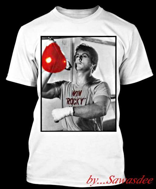 Sylvester Stallone Rocky Balboa Tshirt 100cotton by SawasdeeTshirt, $16.99