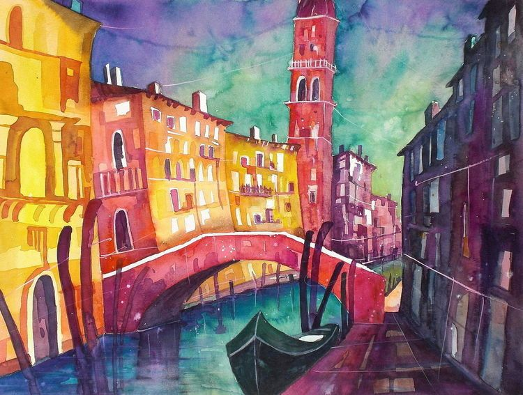 Venedig, Venezia, Stadt, Architektur, Stadtansicht, Haus