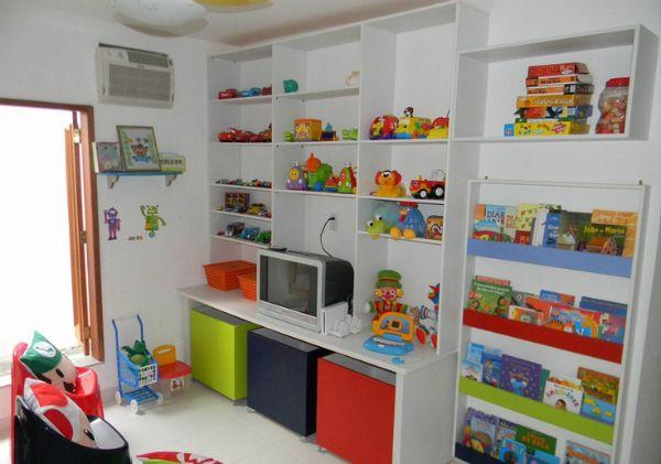 Como organizar brinquedos de um jeito lindo juego for Habitacion familiar en once