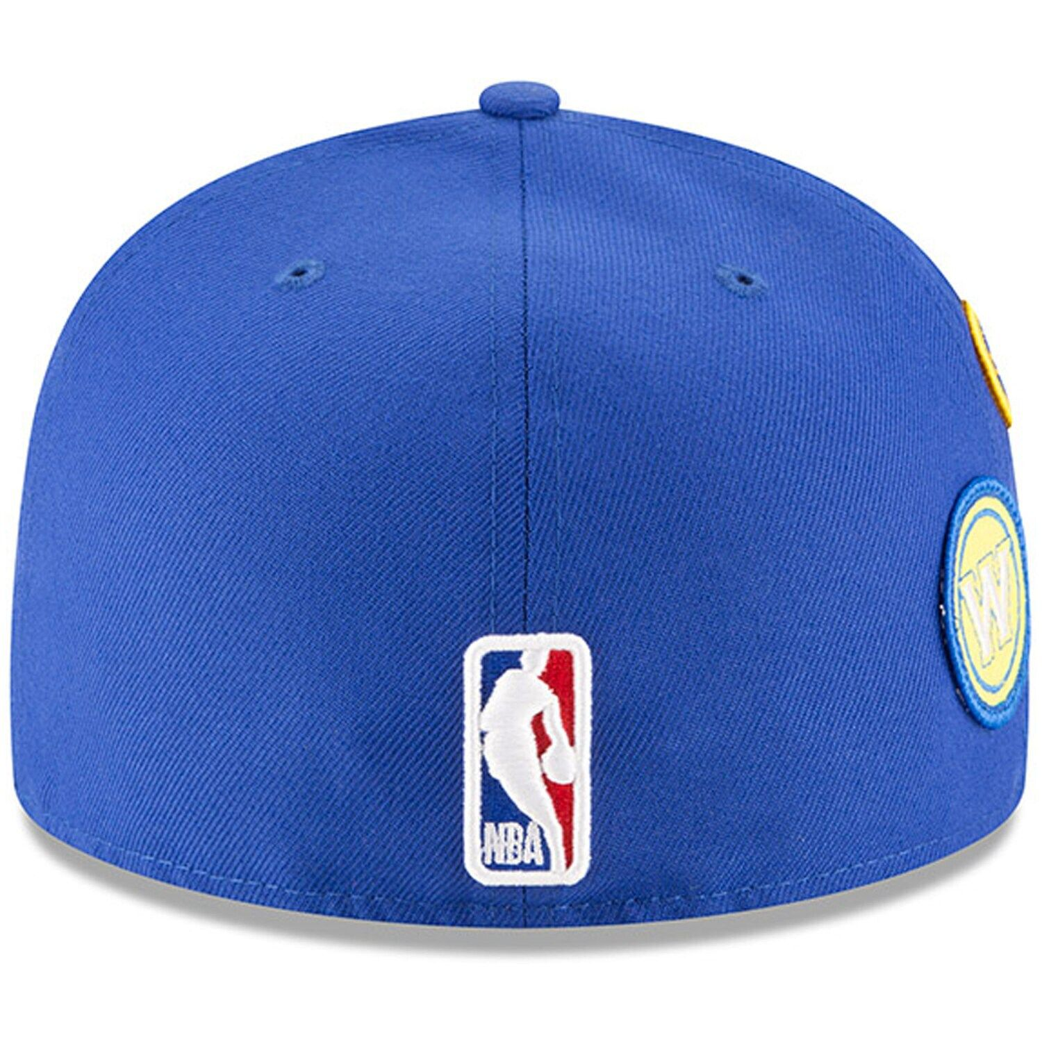 Men S New Era Royal Golden State Warriors 2018 Draft 59fifty Fitted Hat Affiliate Golden Spon State Warr Golden State Warriors 2018 Fitted Hats New Era