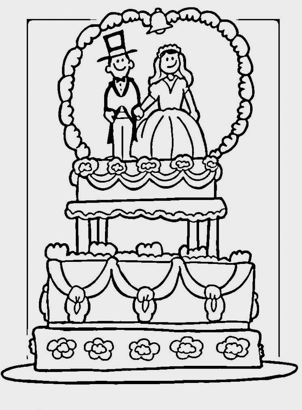 Wedding Coloring Pages | Coloring Pages | Pinterest
