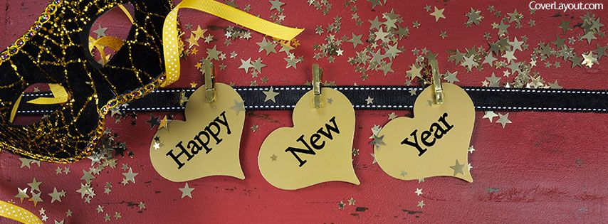 2017 Happy New Year Facebook Cover Cover