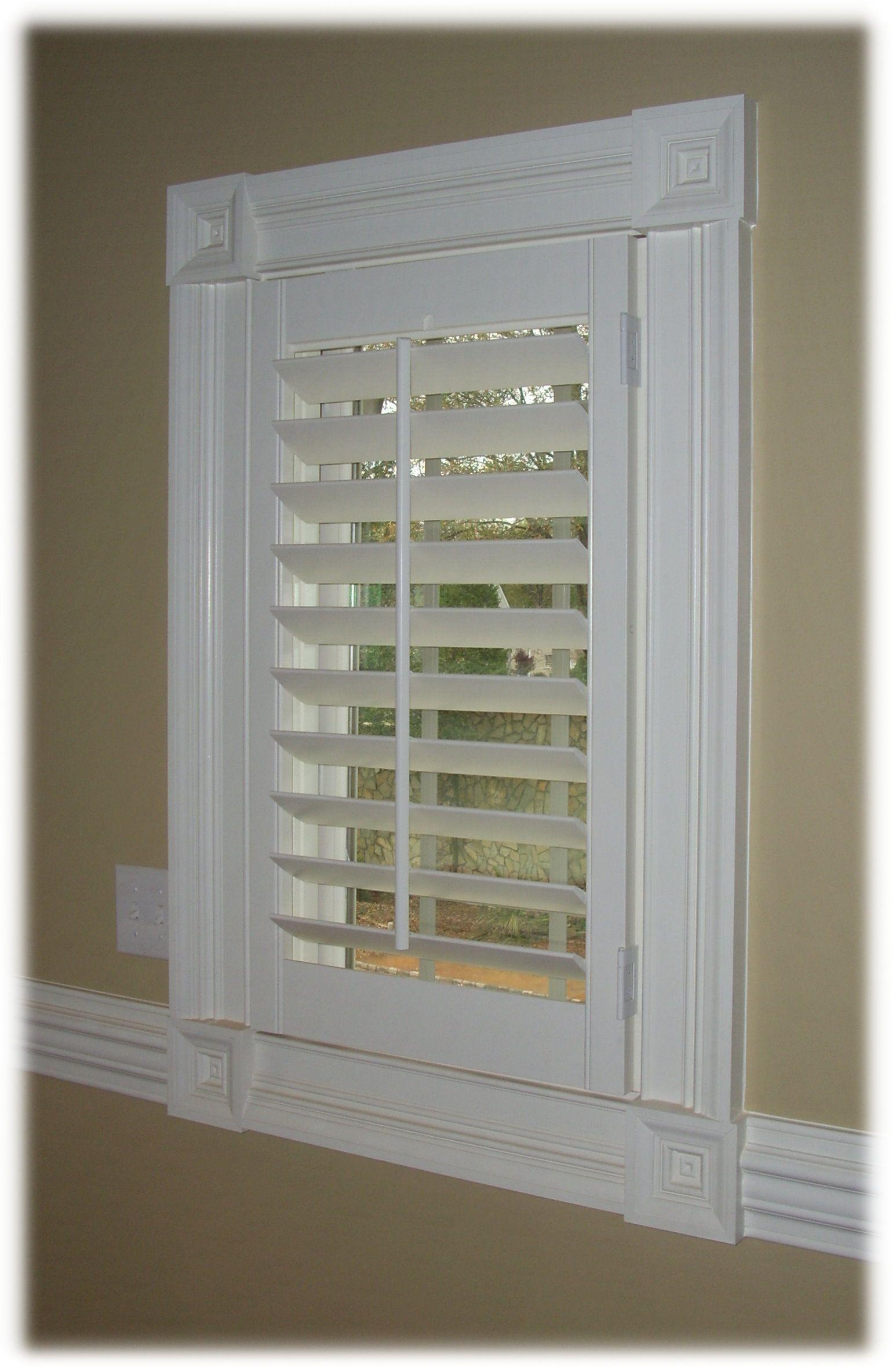 Plantation Window Shutters Interior I Love These!