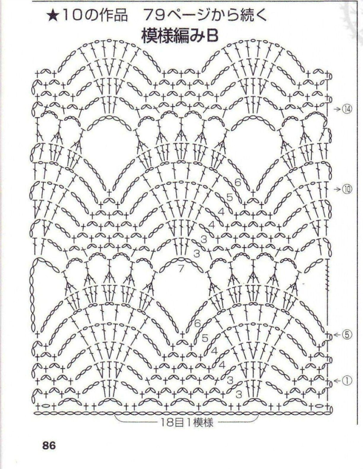 Pin de Magdalena en Druty i szydełko - Knitting needles and crochet ...