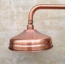 Badaccessoires 8 zoll Runde Schwarz Öl Bronze