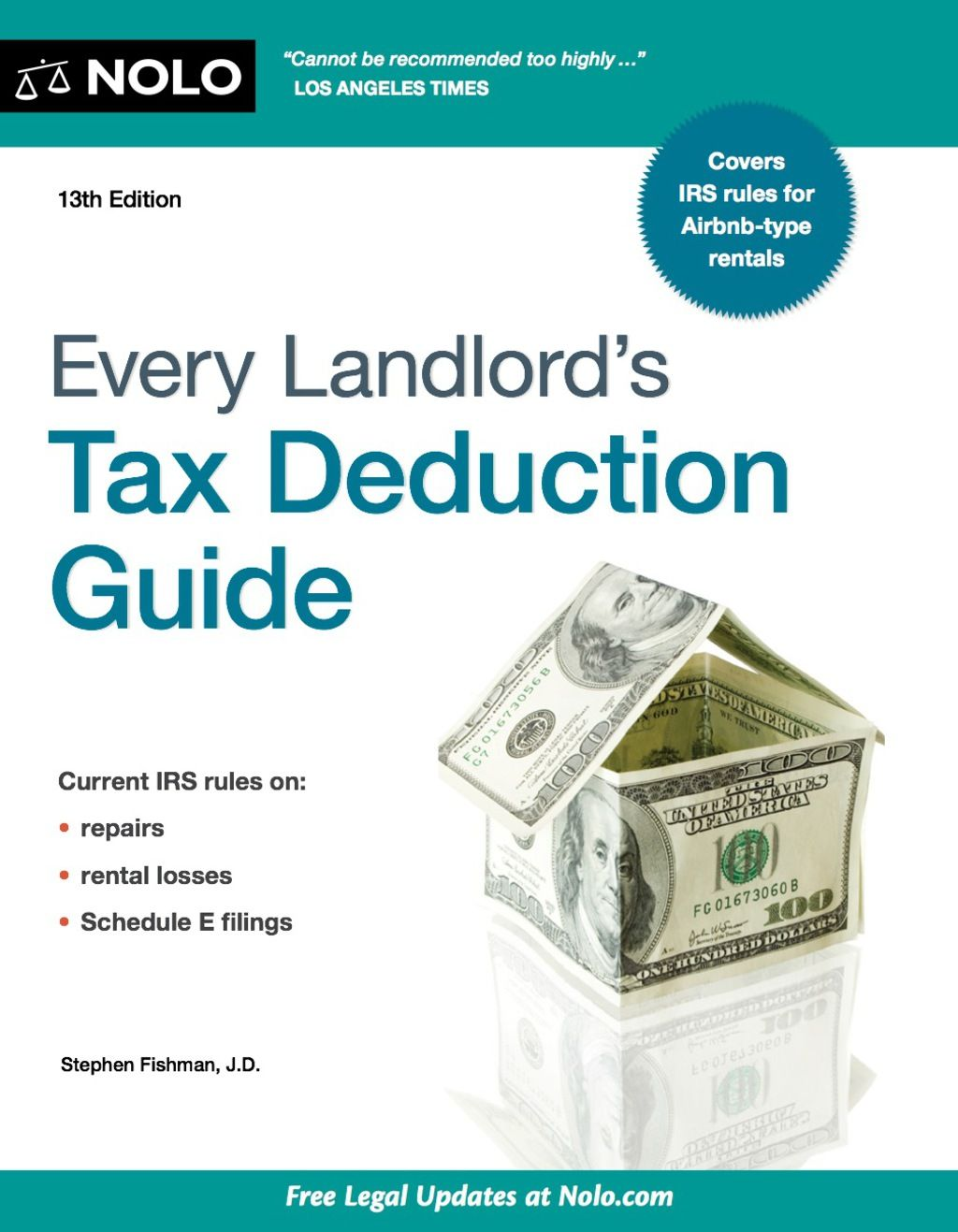 Every Landlord S Tax Deduction Guide Ebook Deduction Guide Being A Landlord Tax Deductions