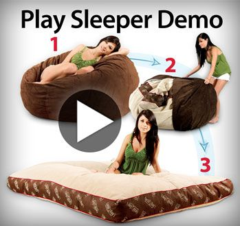Beanbag Chair That Turns Into A Bed
