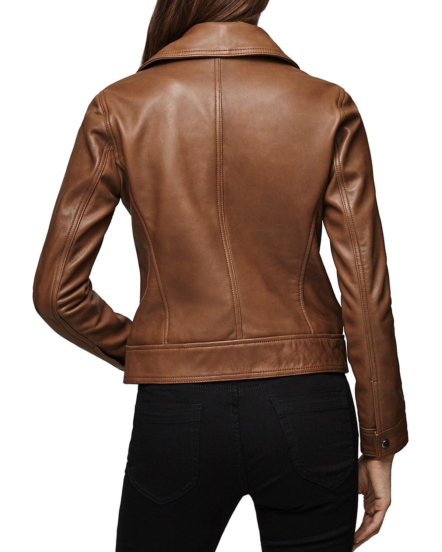 Reiss Torre Leather Biker Jacket Women Bloomingdale S Biker Jacket Womens Biker Jacket Leather Biker Jacket [ 1500 x 1200 Pixel ]