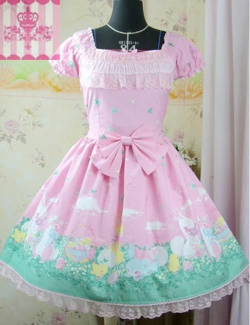 ReplicaDream of Lolita Happy Garden Dress for easter D