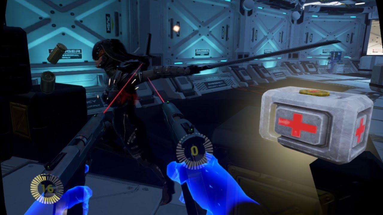 FPS GAMEPLAY BULLET SORROW VR OCULUS RIFT PC - YouTube