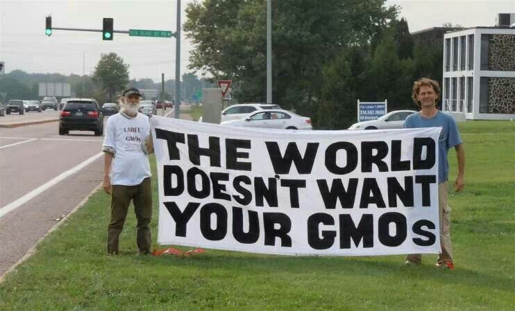 The World Doesn't Want Your GMOs.