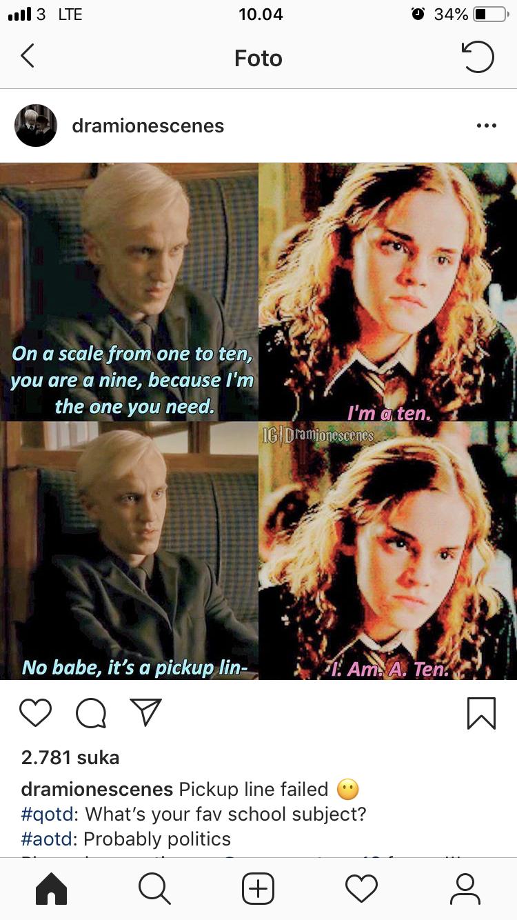 Hermione Is Hermione Ten Is S Ten Harry Potter Funny Harry Potter Hermione Harry Potter Feels