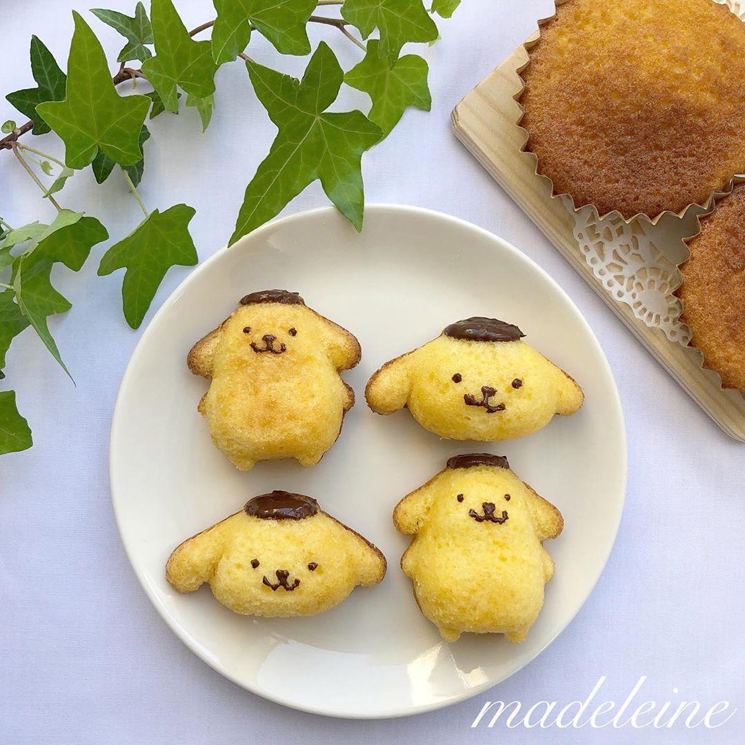 ケーキ ミックス マドレーヌ ホット
