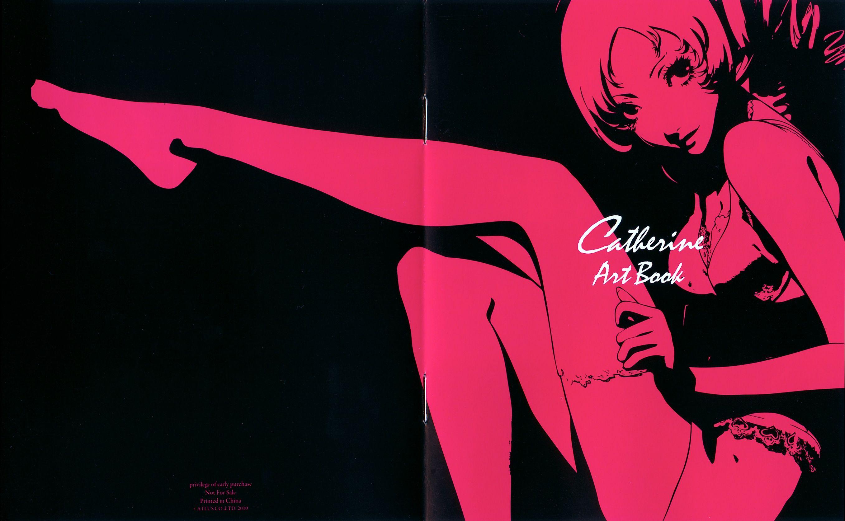 Catherine Videogame Soundtrack Artbook Catherine Game Video Games Girls Catherine