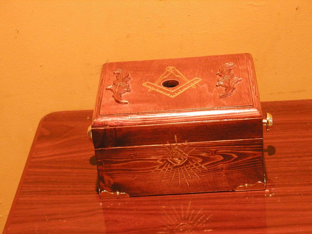 MASONIC LODGE BALLOT BOX
