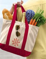 FREE tutorials for making your own reusable shopping bags.