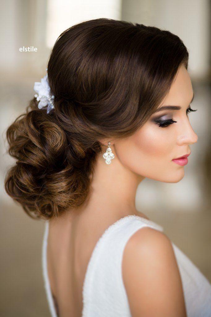 40 Fryzur ślubnych W Stylu Glamour Fryzury Elegant