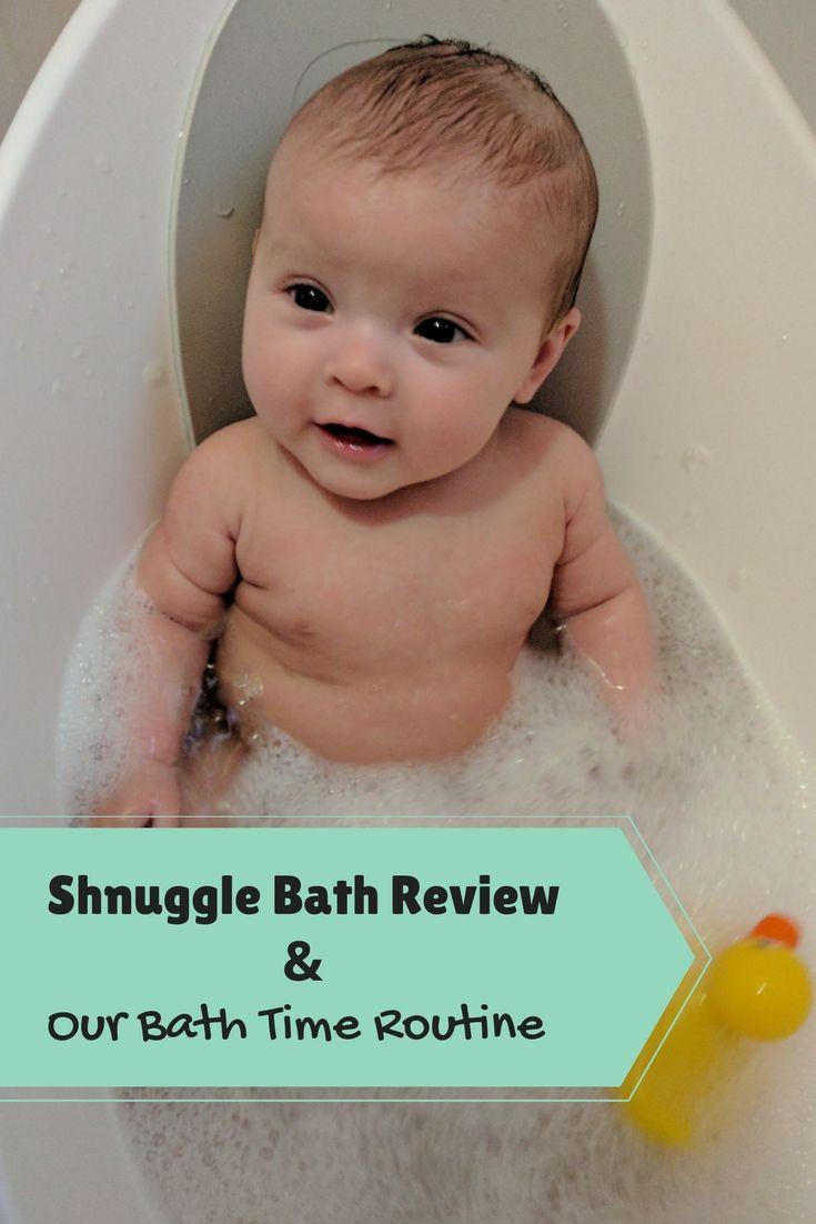 Shnuggle Bath Review & Our Bath Time Routine   Pinterest   Routine ...