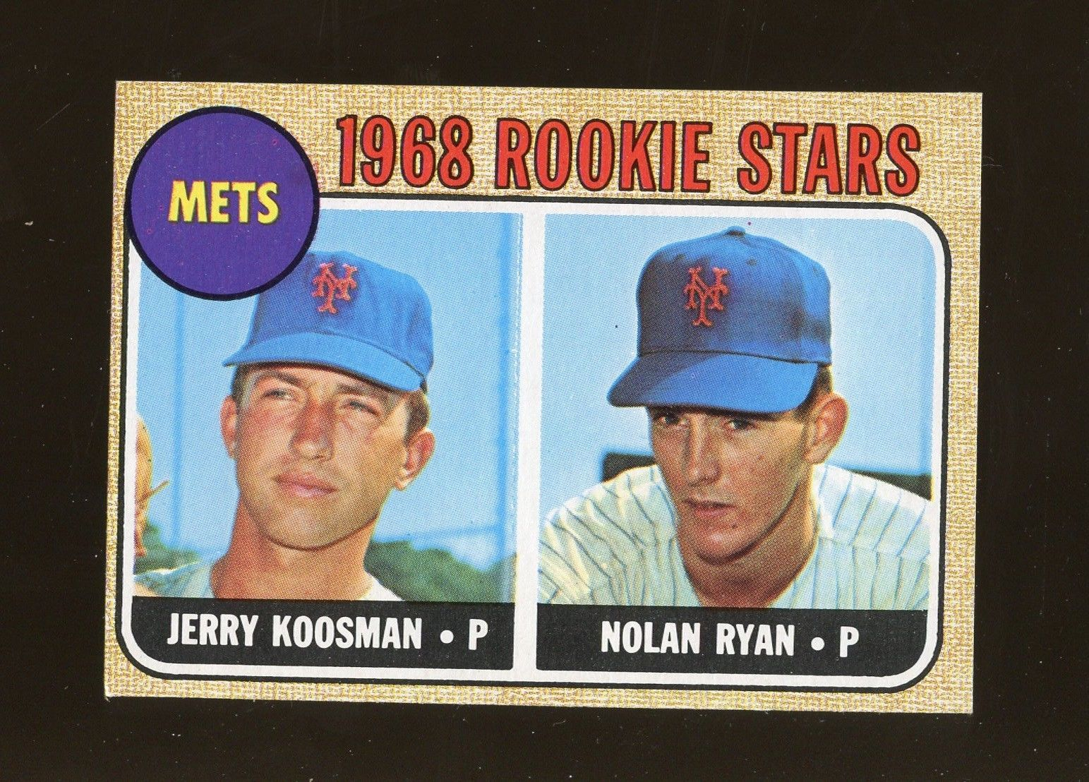 1968 topps 177 nolan ryan new york mets rc rookie hof mc