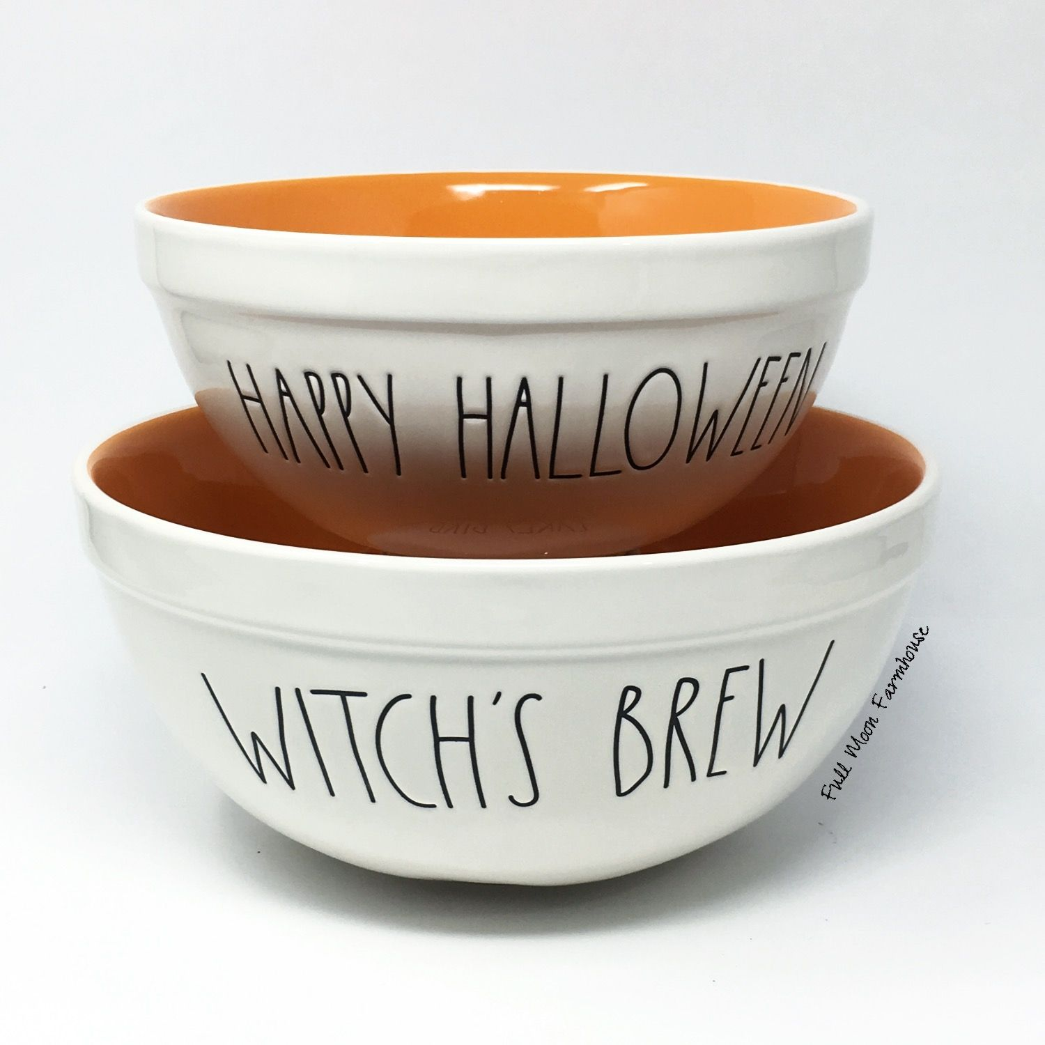 Rae Dunn Melamine Halloween Bowls Set Of 3 Ll Nwt With Images