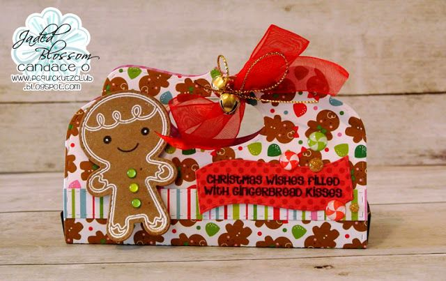 Jaded Blossom Monthly Challenge ~ ChristmasHappy Sunday!  Today is a new challenge with Jaded Blossom and the theme is