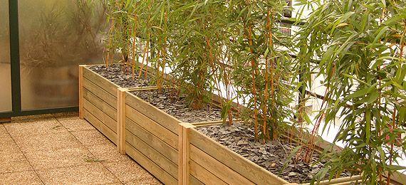 jardiniere bois pour terrasse - Fabriquer Une Jardiniere En Bois