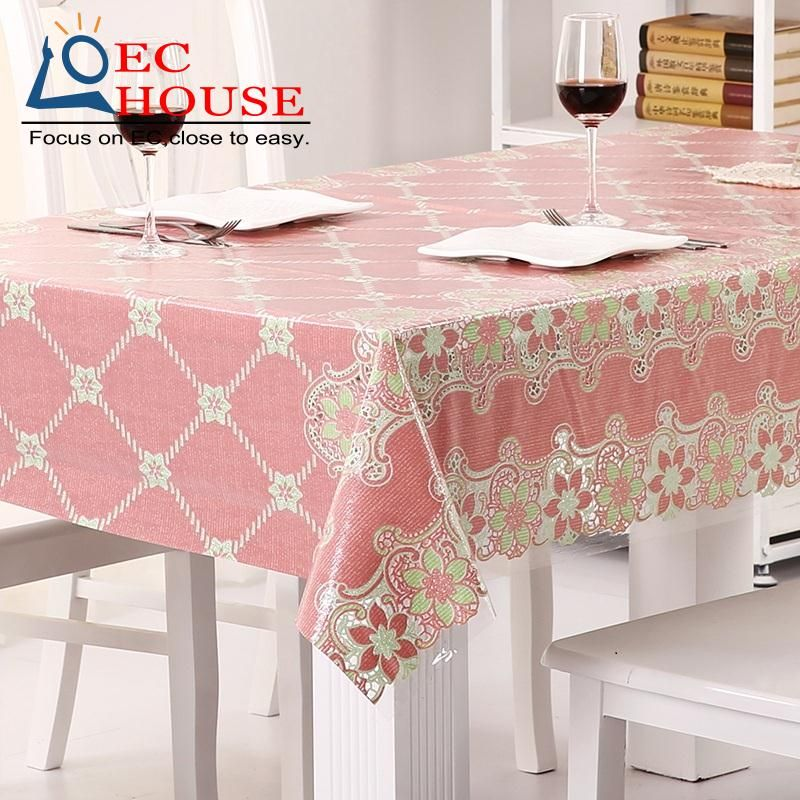 Waterproof Oil Proof Disposable Lace Tablecloth Plastic Table Cloth Pvc Soft Gl Mat Free Shipping